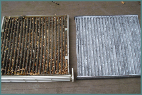 Clean and Dirty HEPA filters