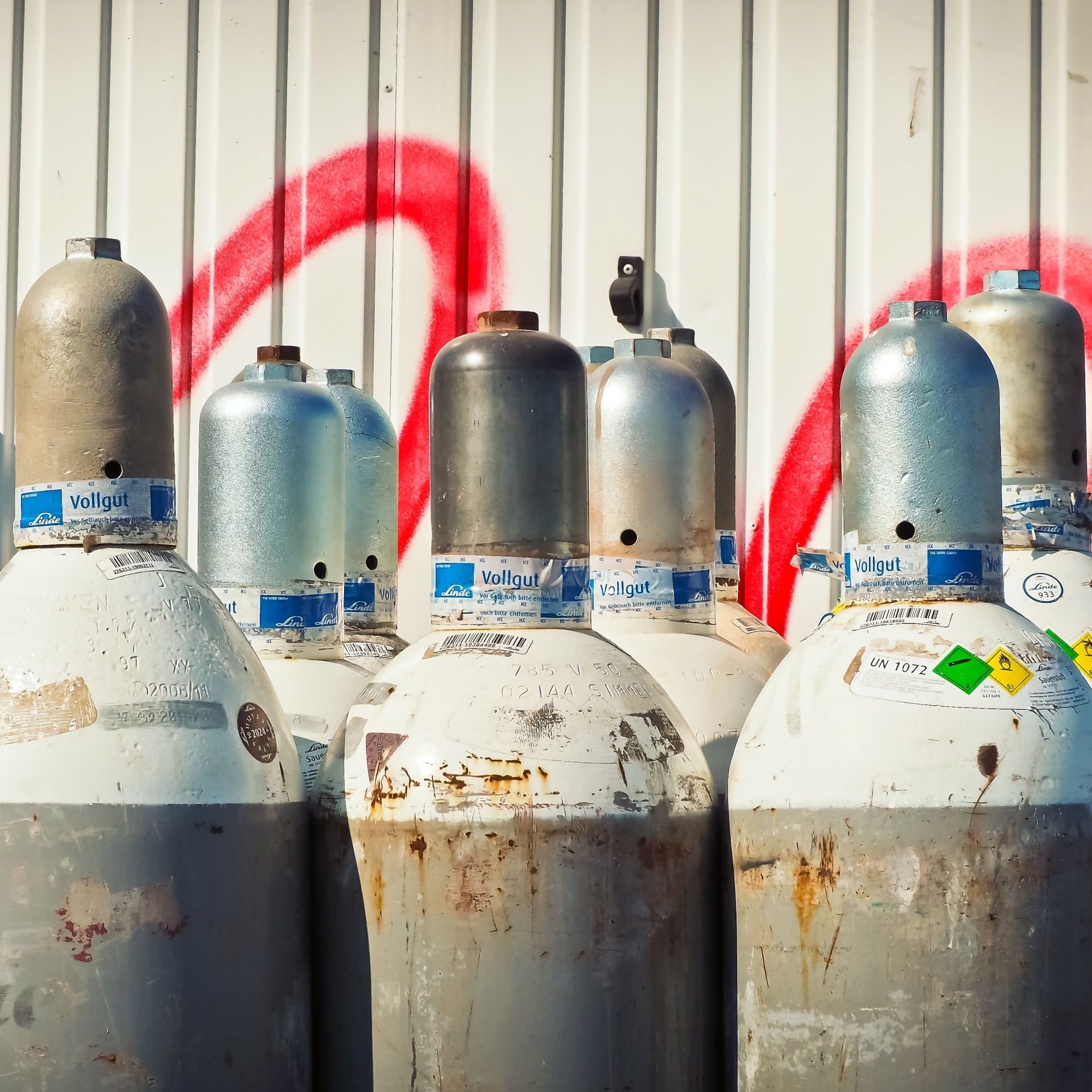 Compressed gas is dangerous in and of itself