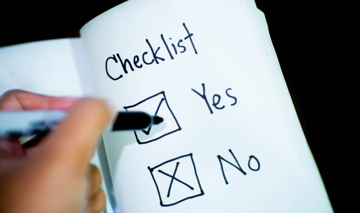 Lab Manager's checklist